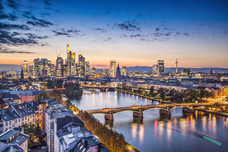 Frankfurt Financial District