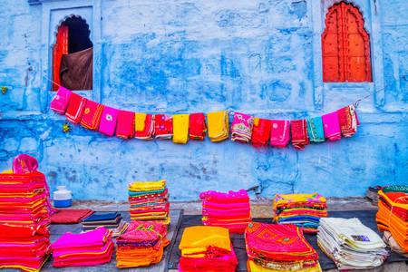 Mercadillo en Jodhpur